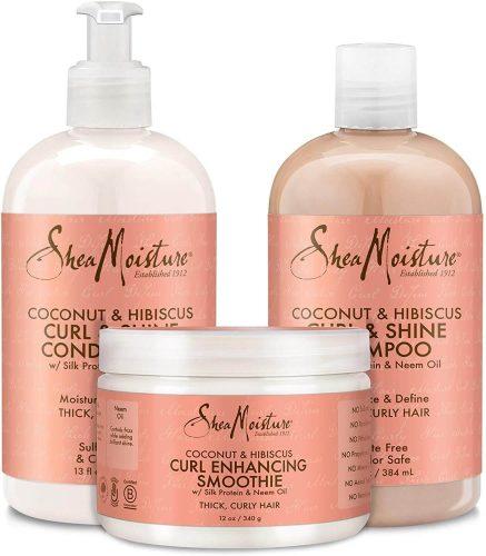 Shea Moisturize curl and shine